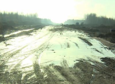 Южное шоссе в Череповце продолжат строить и зимой