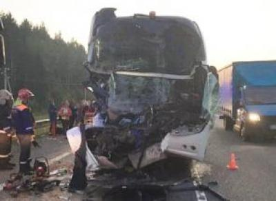 22 вологжанина пострадали в ДТП с автобусом