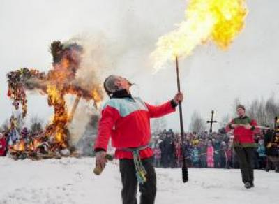 Более 36 000 человек проводили зиму