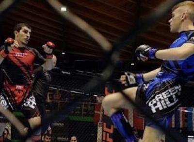 Боец из Вологды взял серебро в Европе на первенстве по MMA