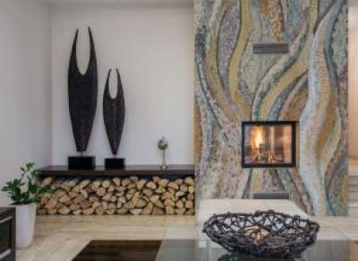 Керамическая мозаика в интерьерах