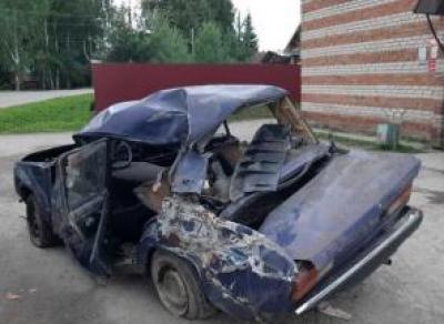 В Кириллове погиб водитель