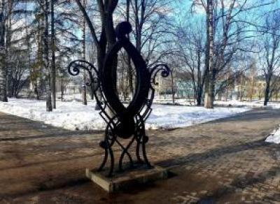 Памятник букве «О» вернули на прежнее место