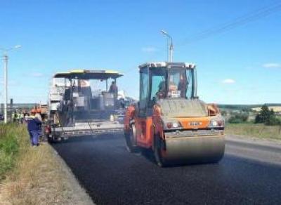 Начался ремонт дороги Тотьма – Никольск