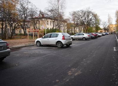Вологжане отпраздновали окончание ремонта двора на улице Ветошкина
