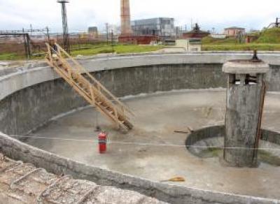 В Череповце реконструируют очистные сооружения