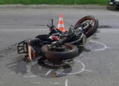 В Череповце мотоциклист сбил пешехода