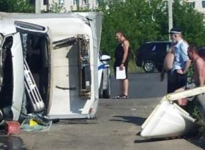 Вологжан смутил «живот полицейского» на фото с ДТП