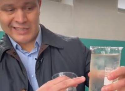 Мэр проверил качество воды