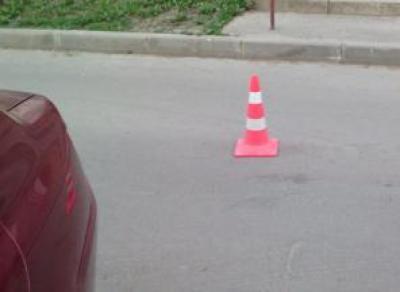 Ребенок на велосипеде попал под колеса иномарки в Вологде