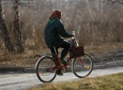 «Нива» атаковала пьяную велосипедистку