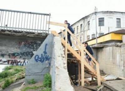В Вологде Красный мост открыли для пешеходов, а Каменный – закрыли