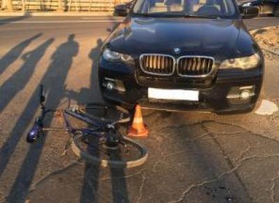 На ул. Горького сбили велосипедиста