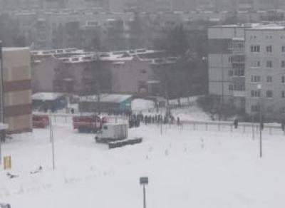 В Вологде идет массовая эвакуация школ и торговых центров