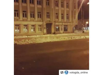 Ночное похождение туристки в Вологде