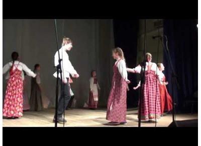 Танец фольклорного коллектива