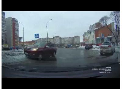 Ехать поперек односторонней дороги - легко! 14.03.18
