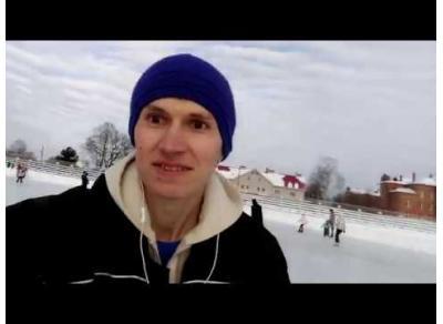 Катание на стадионе Витязь 11.02.18