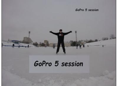Тест проба GoPro 5 session