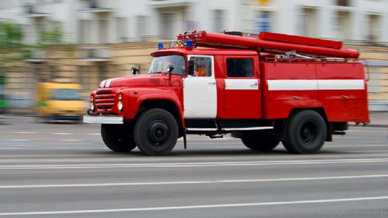 В 9-этажном доме в Вологде случился пожар
