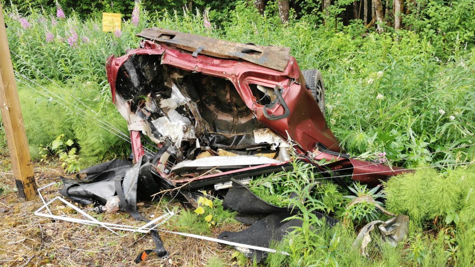 Смертельная авария в Шекснинском районе