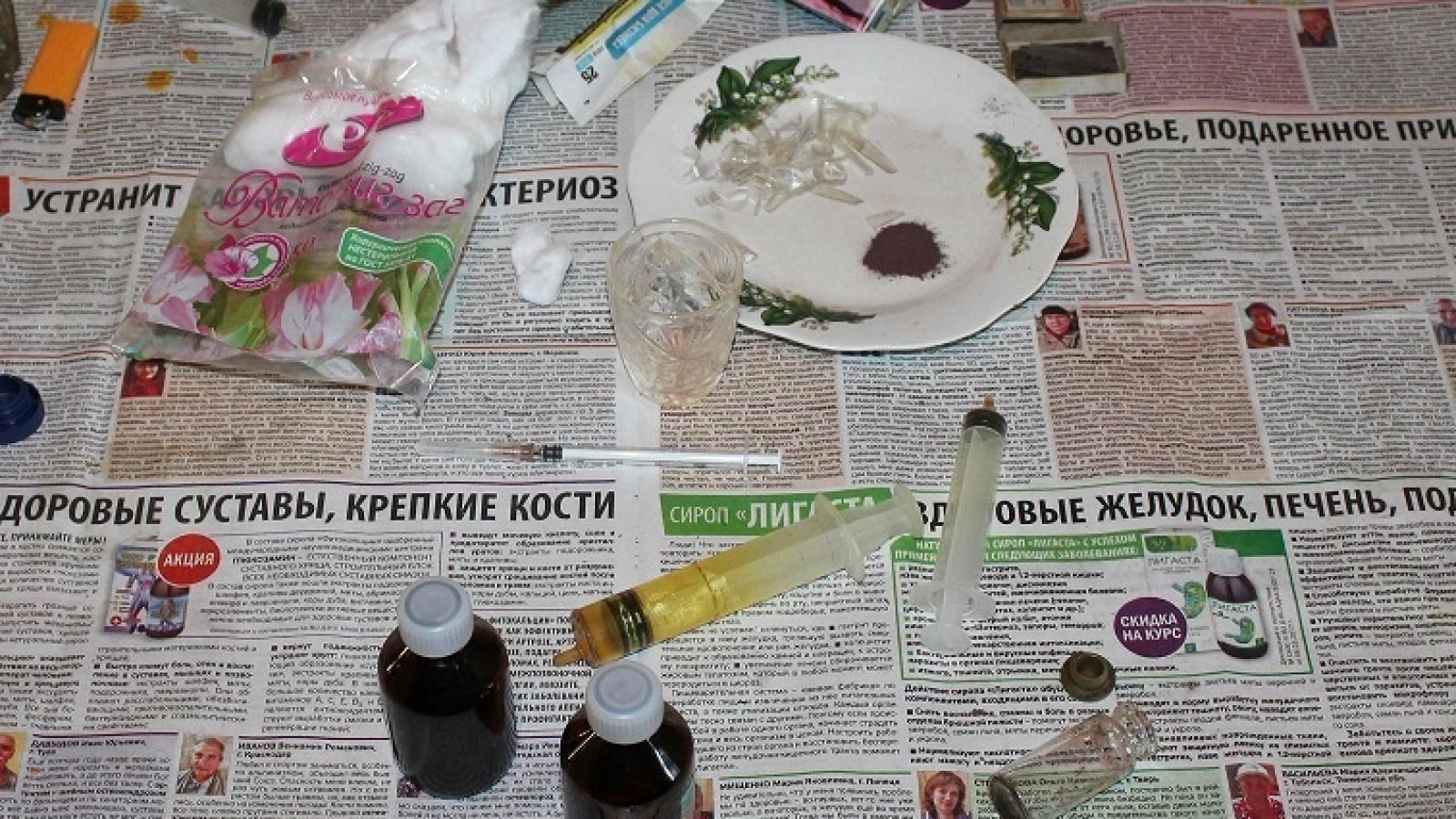 В Вологодской квартире обнаружили наркопритон