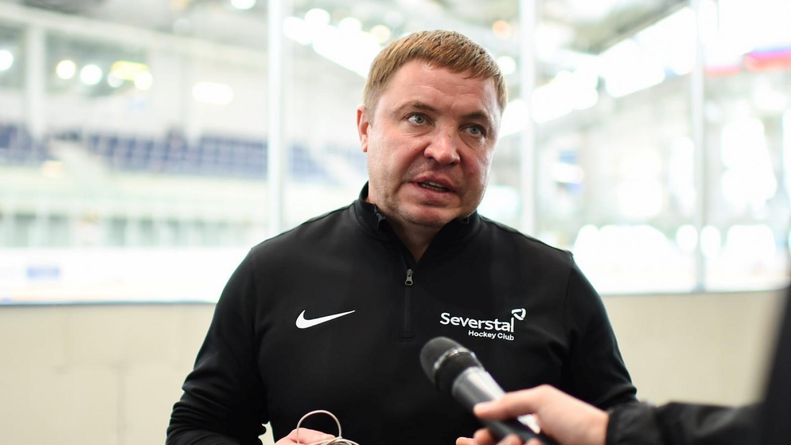 Тренера ХК «Северсталь» отправили в отставку