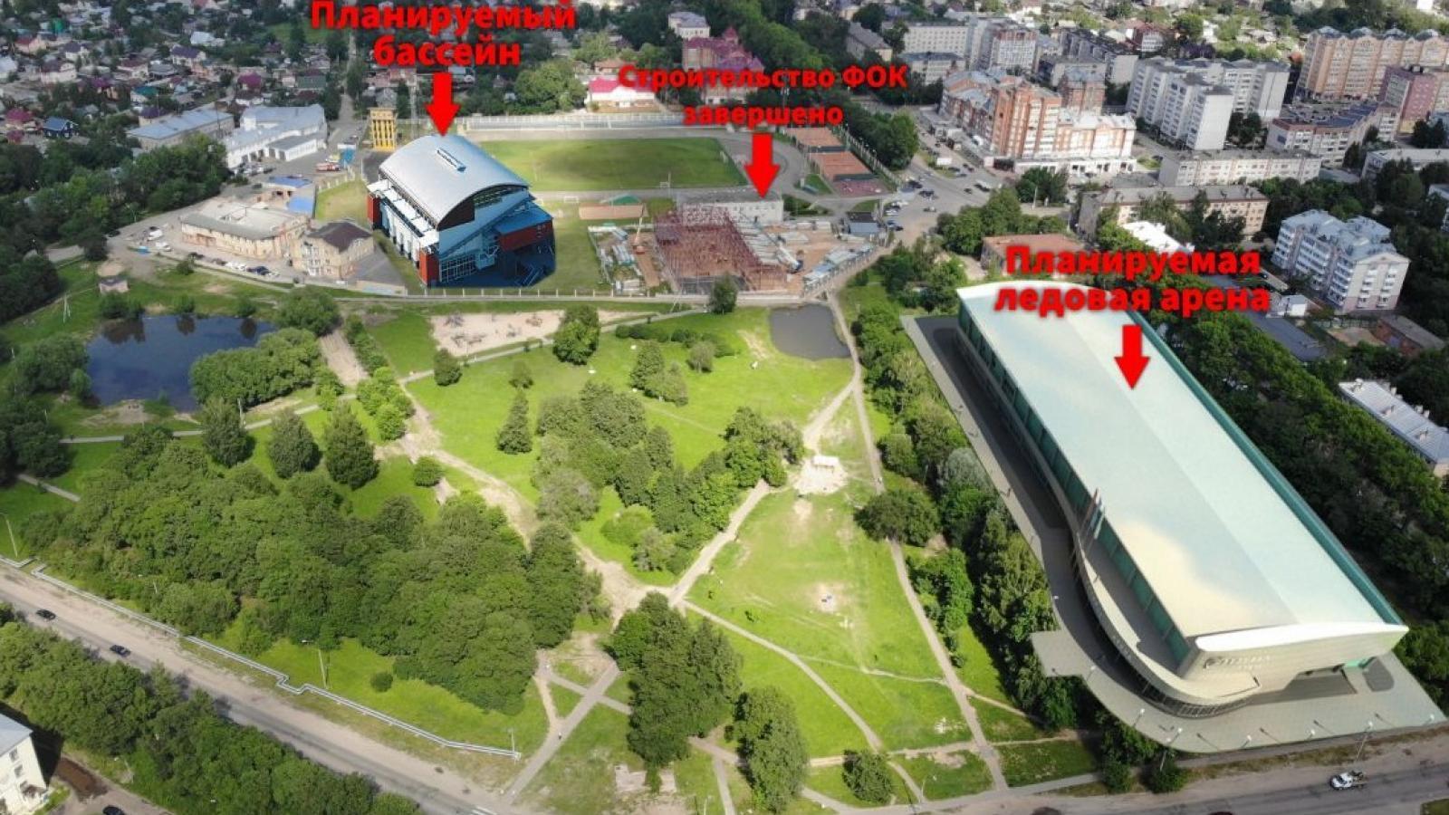 В Ковыринском парке хотят построить ледовую арену
