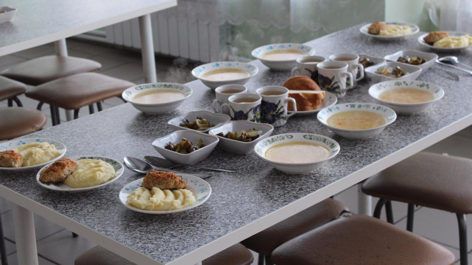 5 череповецких школ опробуют систему здорового питания