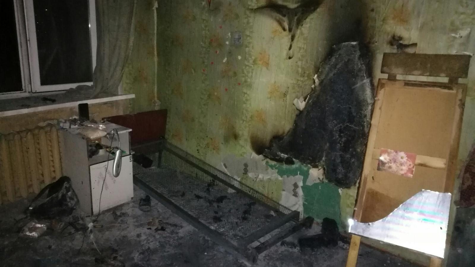 Пьяный студент поджёг общежитие техникума в Грязовце