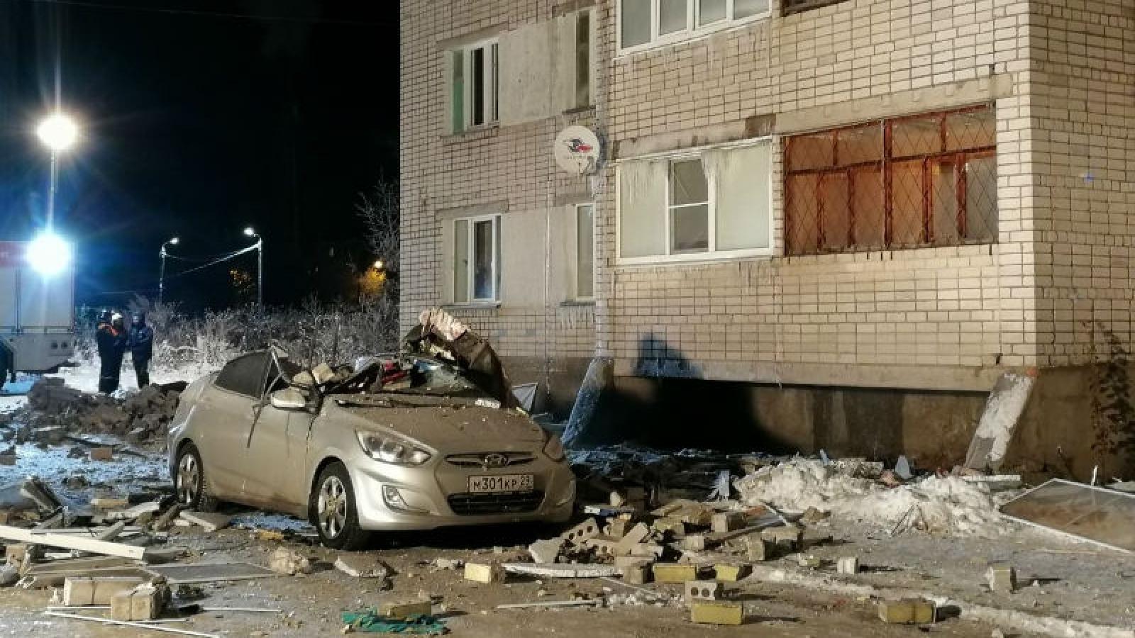Подробности взрыва газа в жилом доме на ул.Карла Маркса