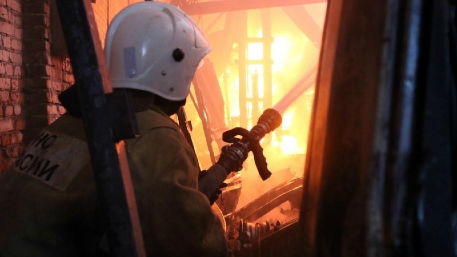 Пожар на Станкозаводе