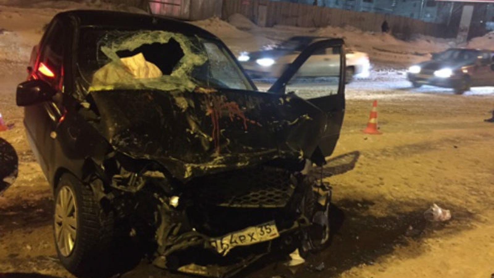 ДТП на Конева: 5 пострадавших, среди них ребёнок