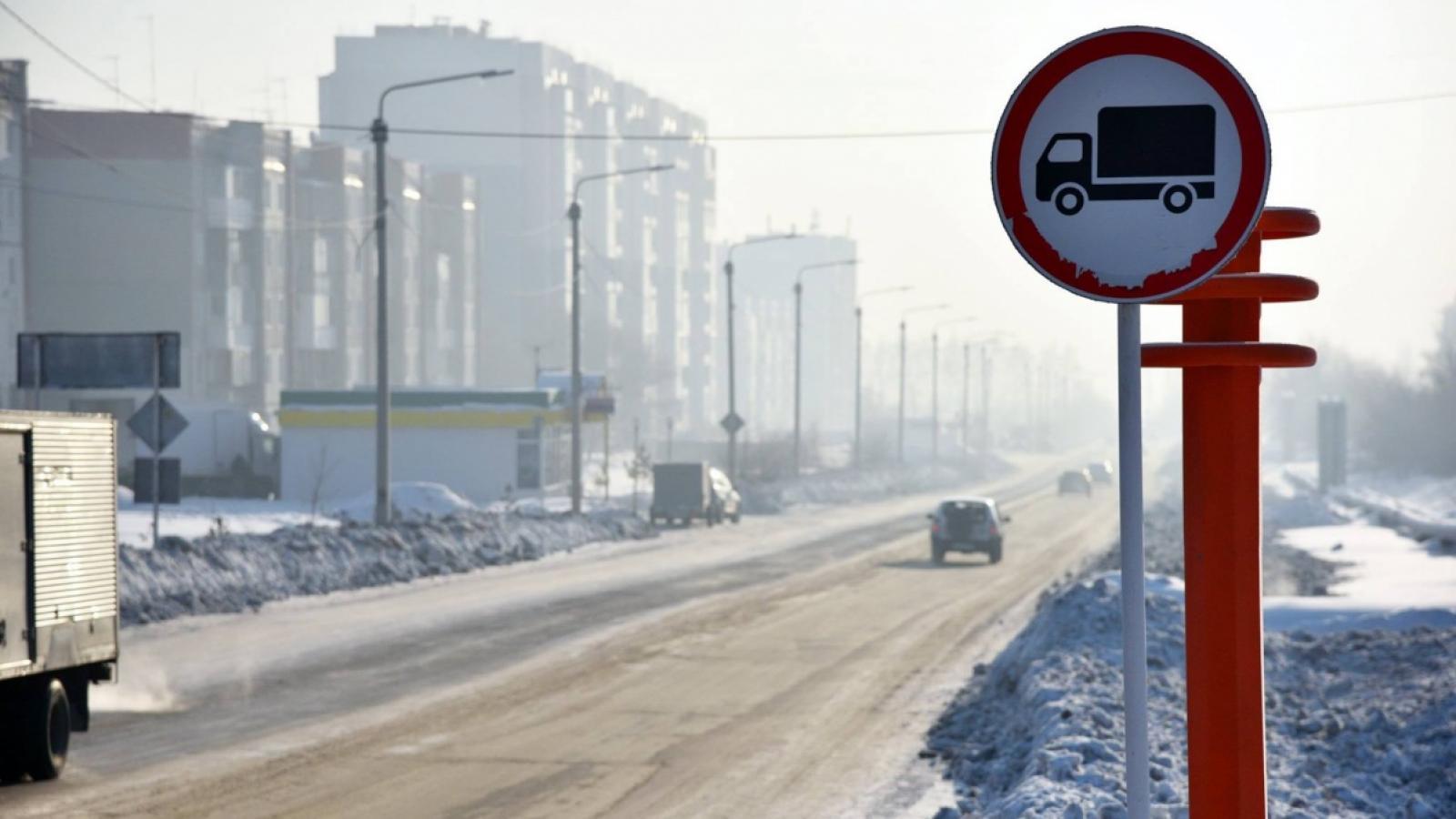 В Вологде ограничат движение большегрузов