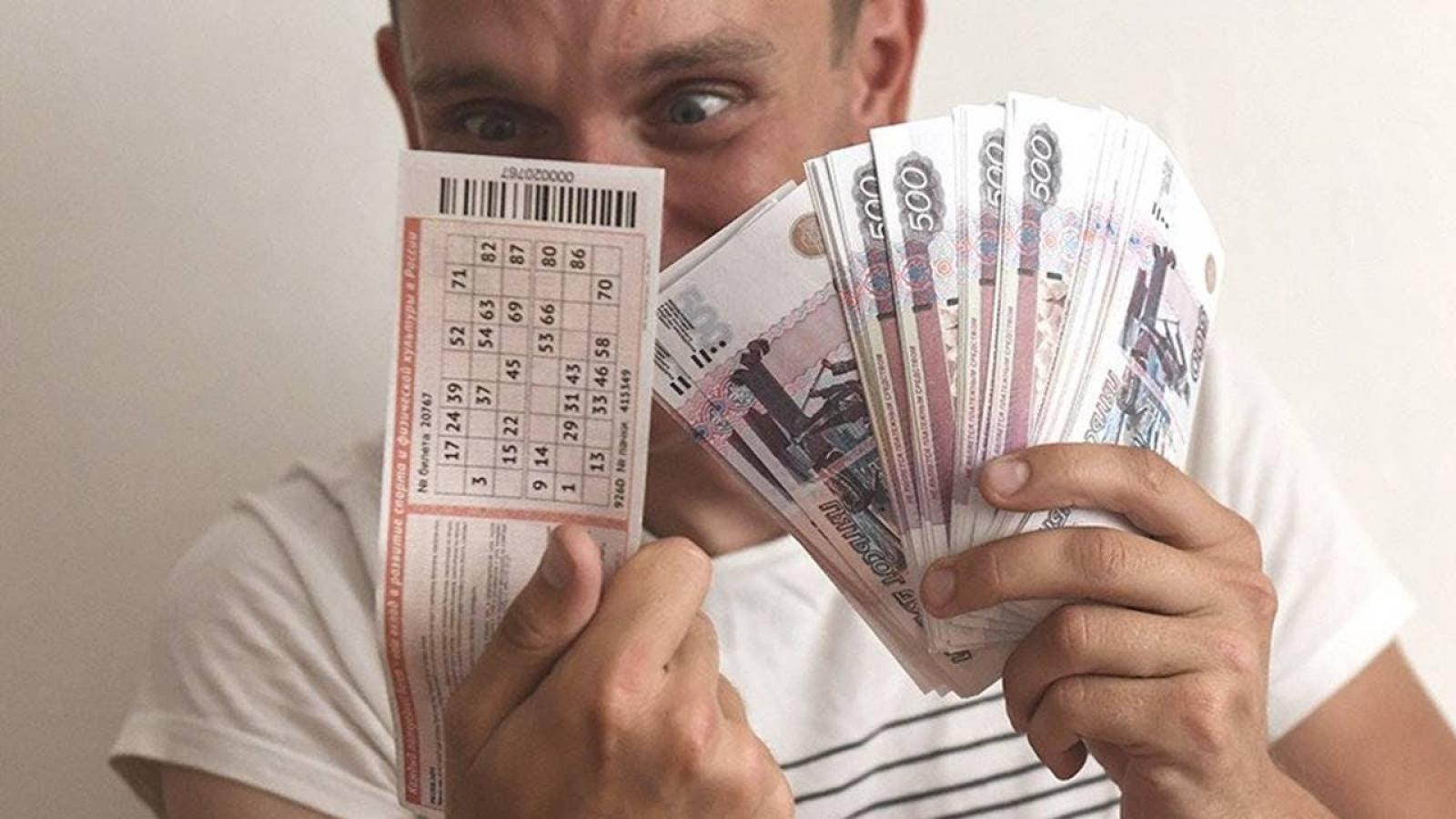 Вологжанин выиграл миллион в лотерею