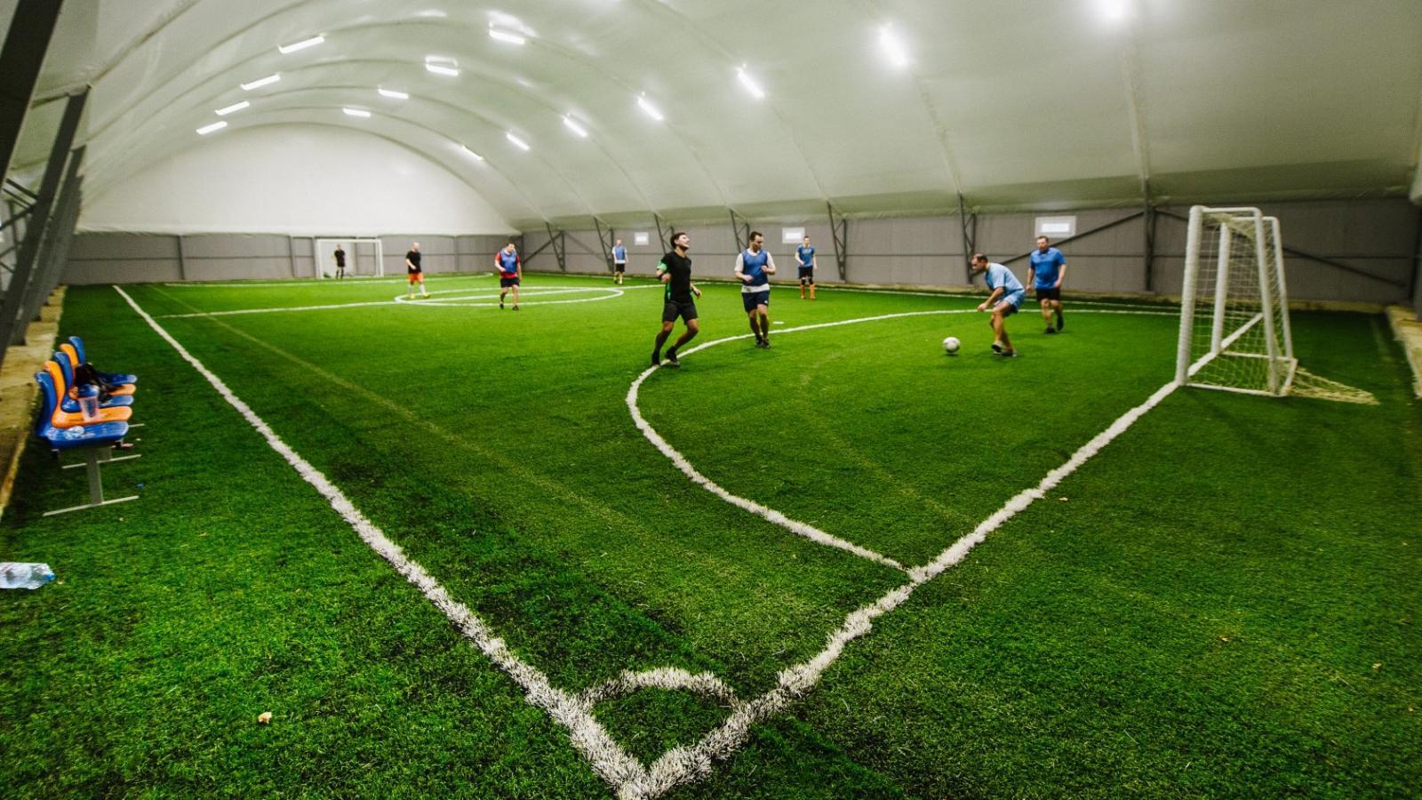 Крытый футбольный манеж построят в микрорайоне ПЗ