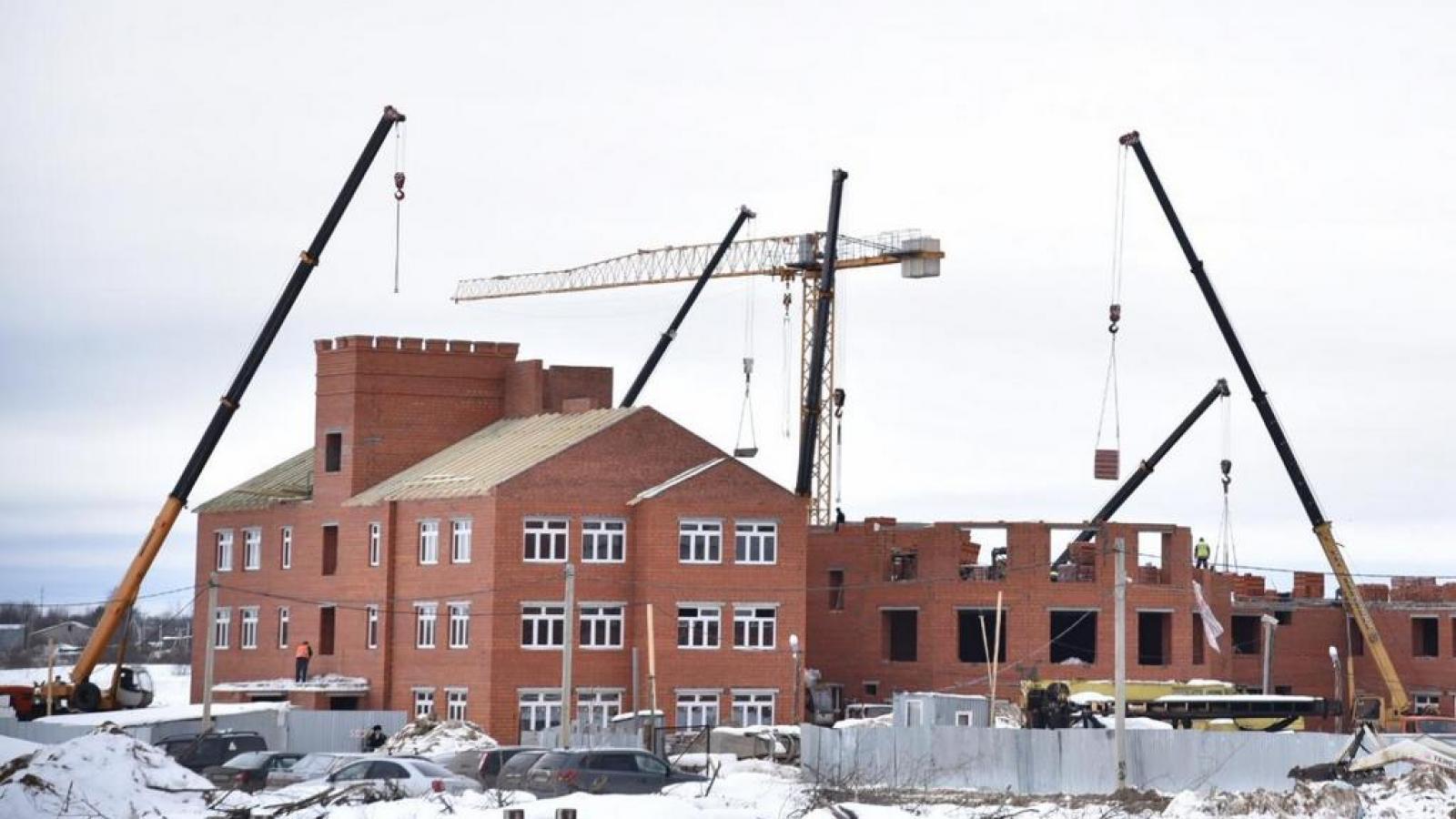 Два детских сада в Вологде сдадут раньше срока