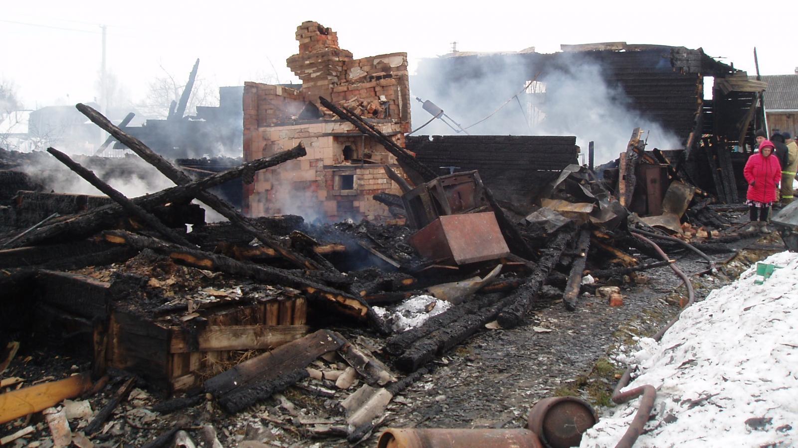 Пожар на Вологодчине: один человек погиб