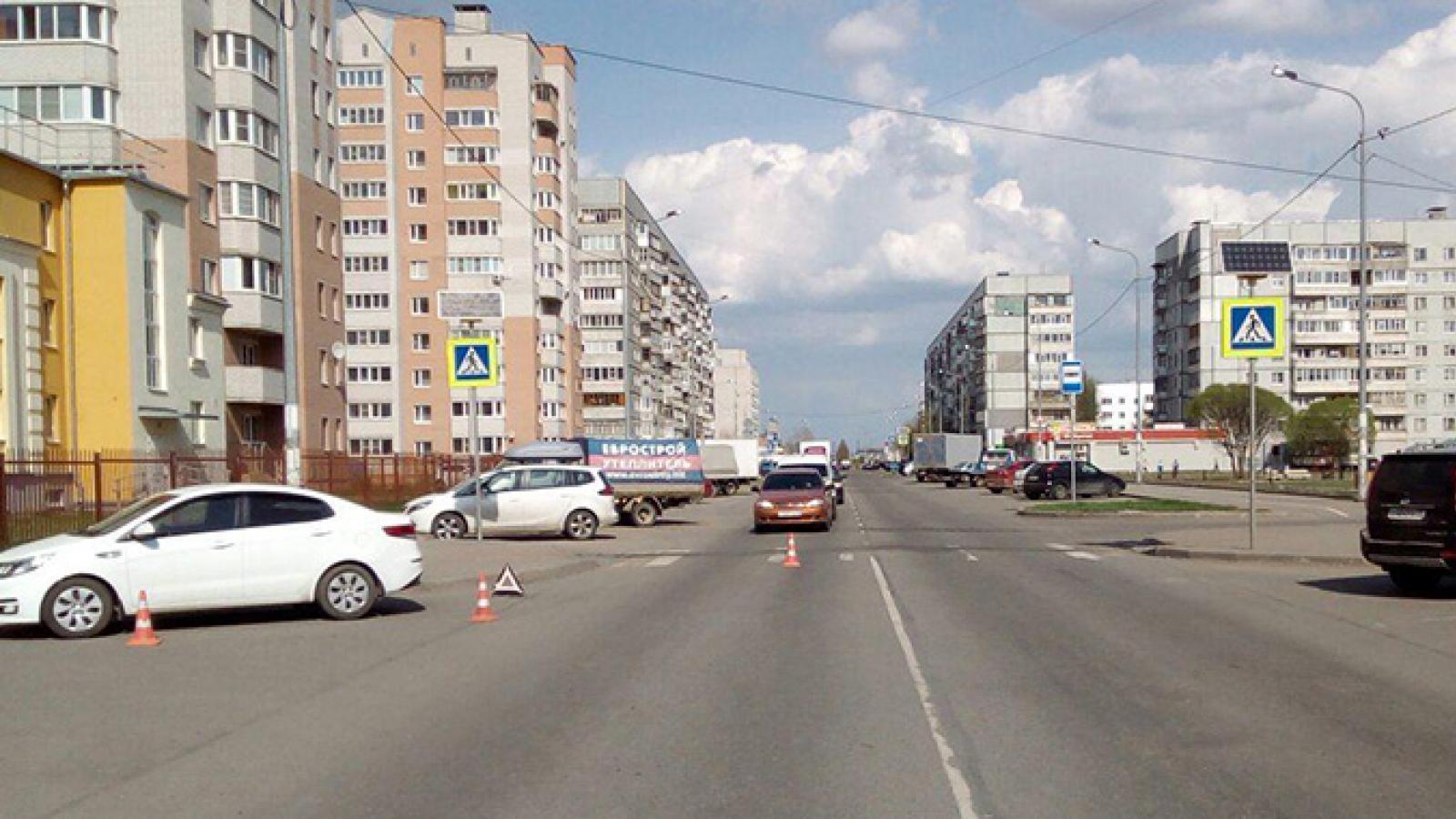 В Вологде школьник попал под колеса иномарки