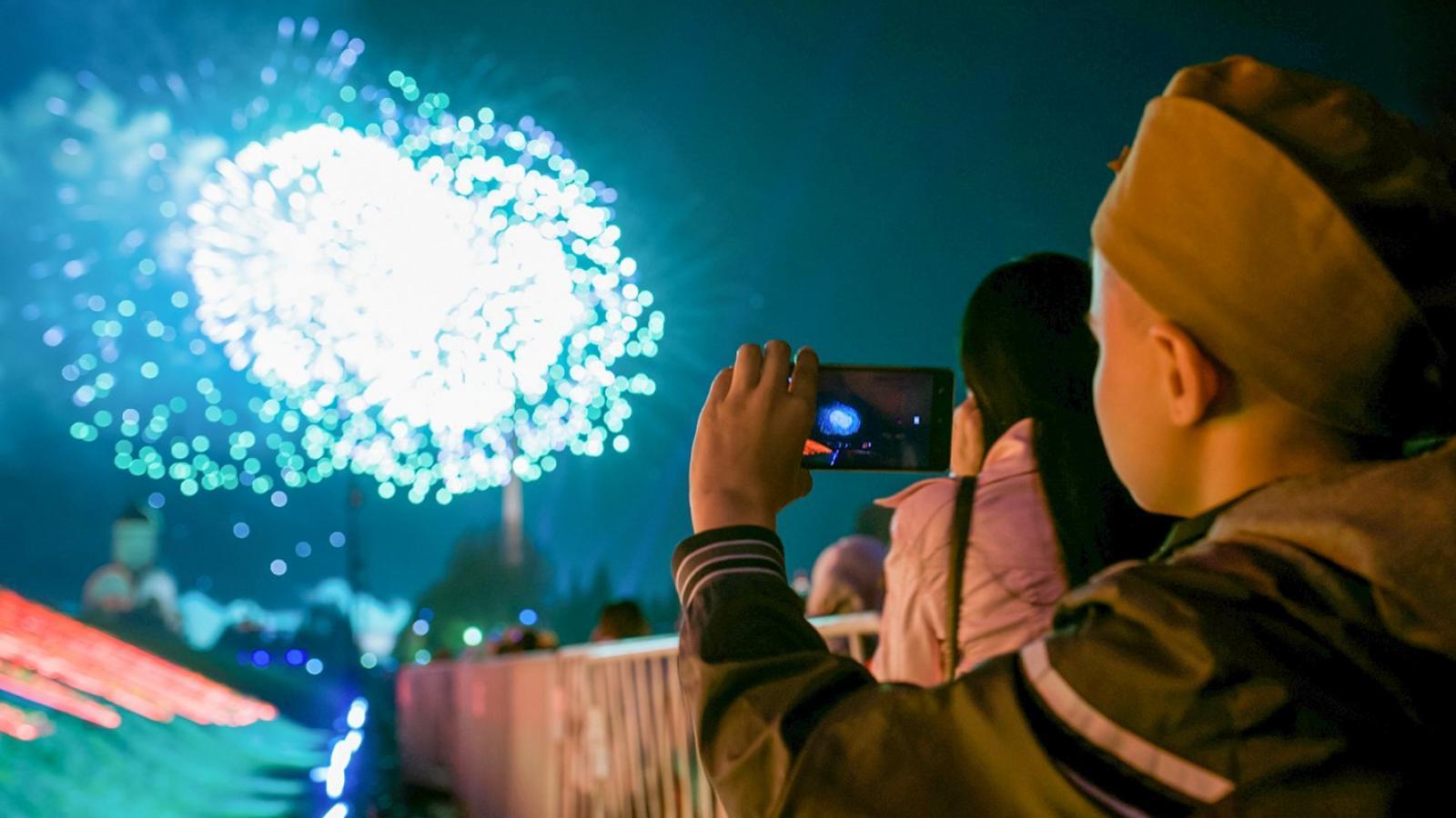 В Вологде салют в честь Дня Победы продлится более 4 минут