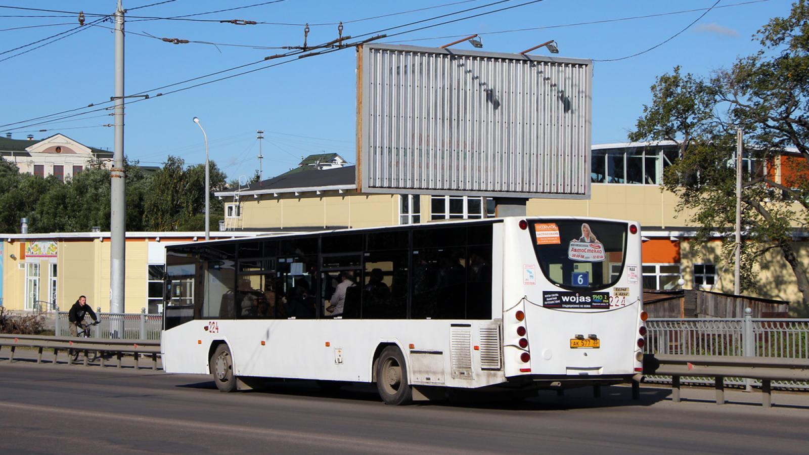 Автобус сбил мужчину на пешеходном переходе