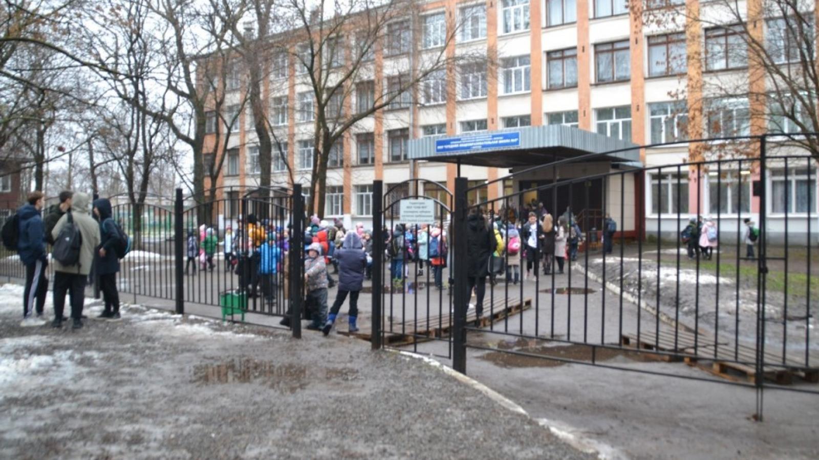 Ученики 2 вологодских школ были экстренно эвакуированы