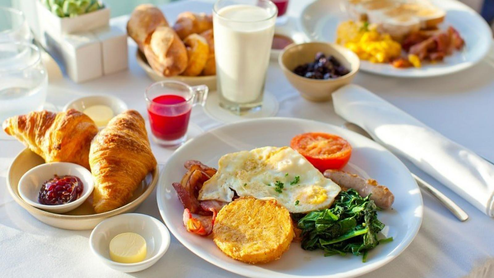 Хороший завтрак не помогает