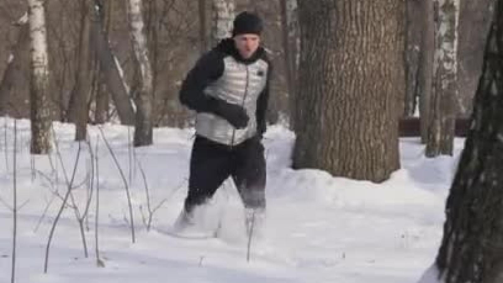 Пьяный водитель убегал от полиции по лесу