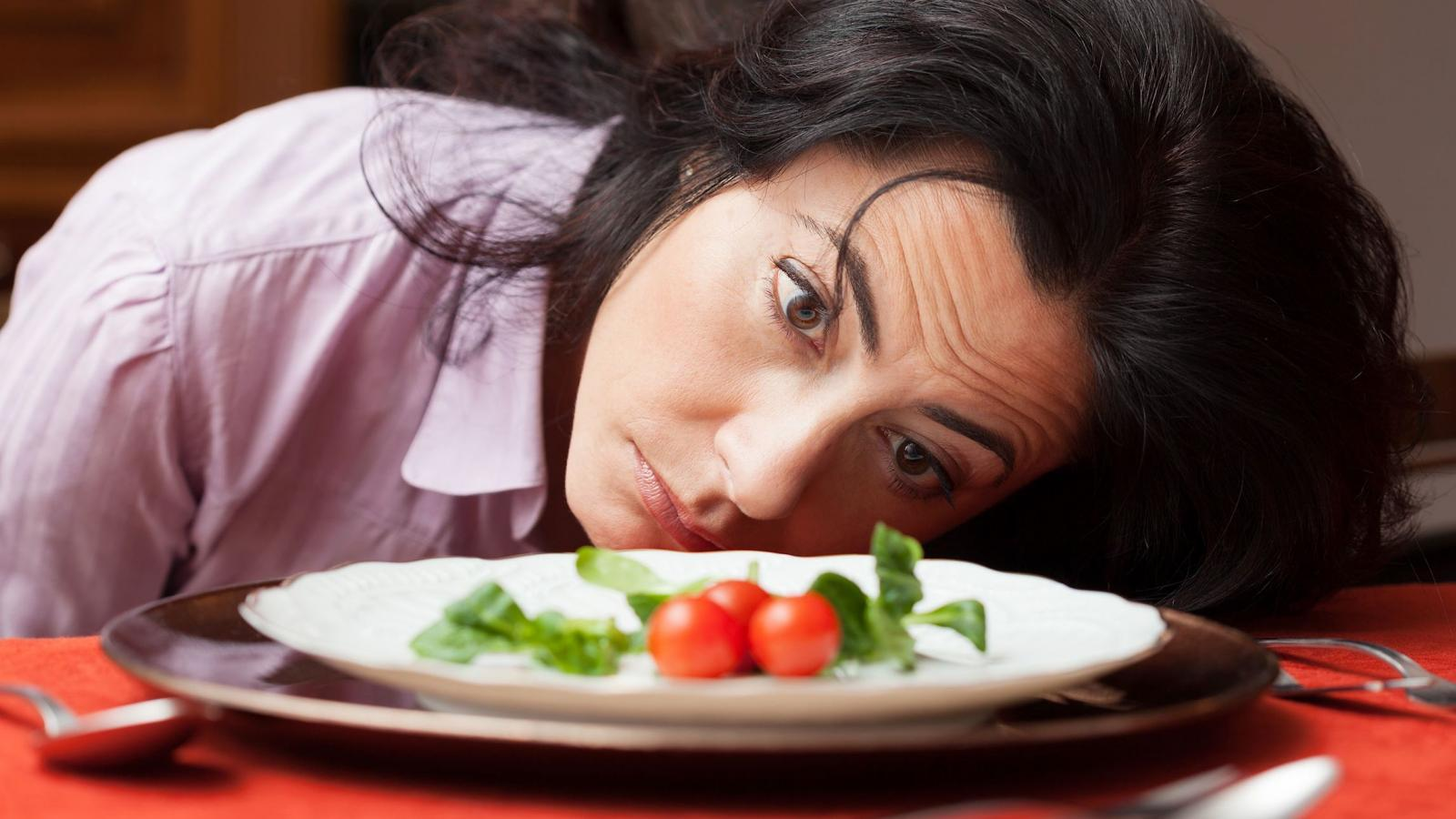 Девушка «не ест»