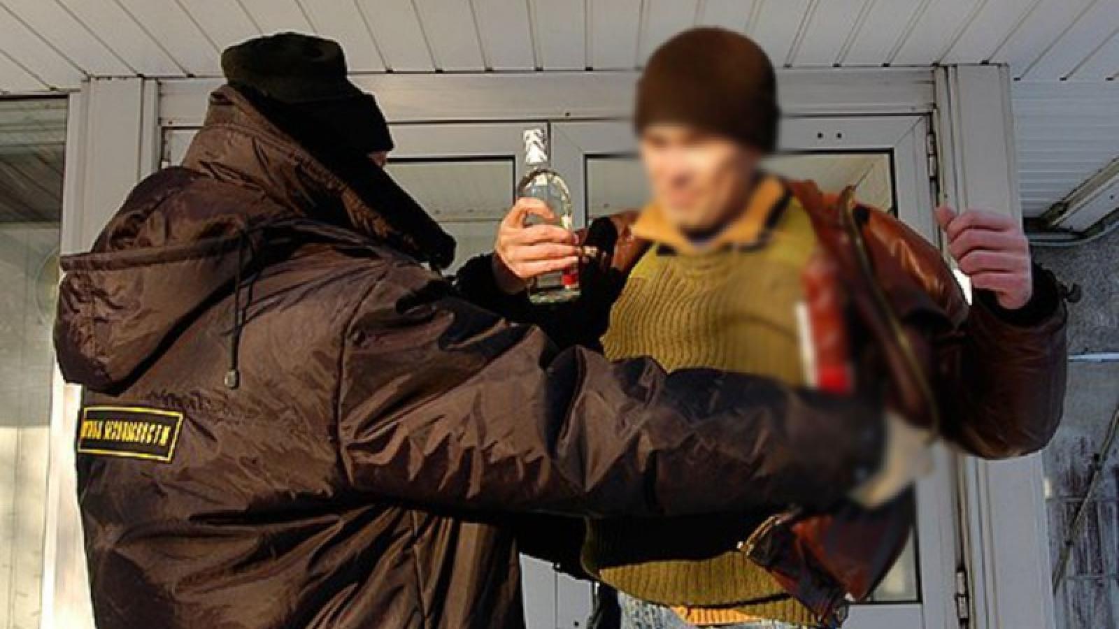 Череповчанин украл водку для компресса