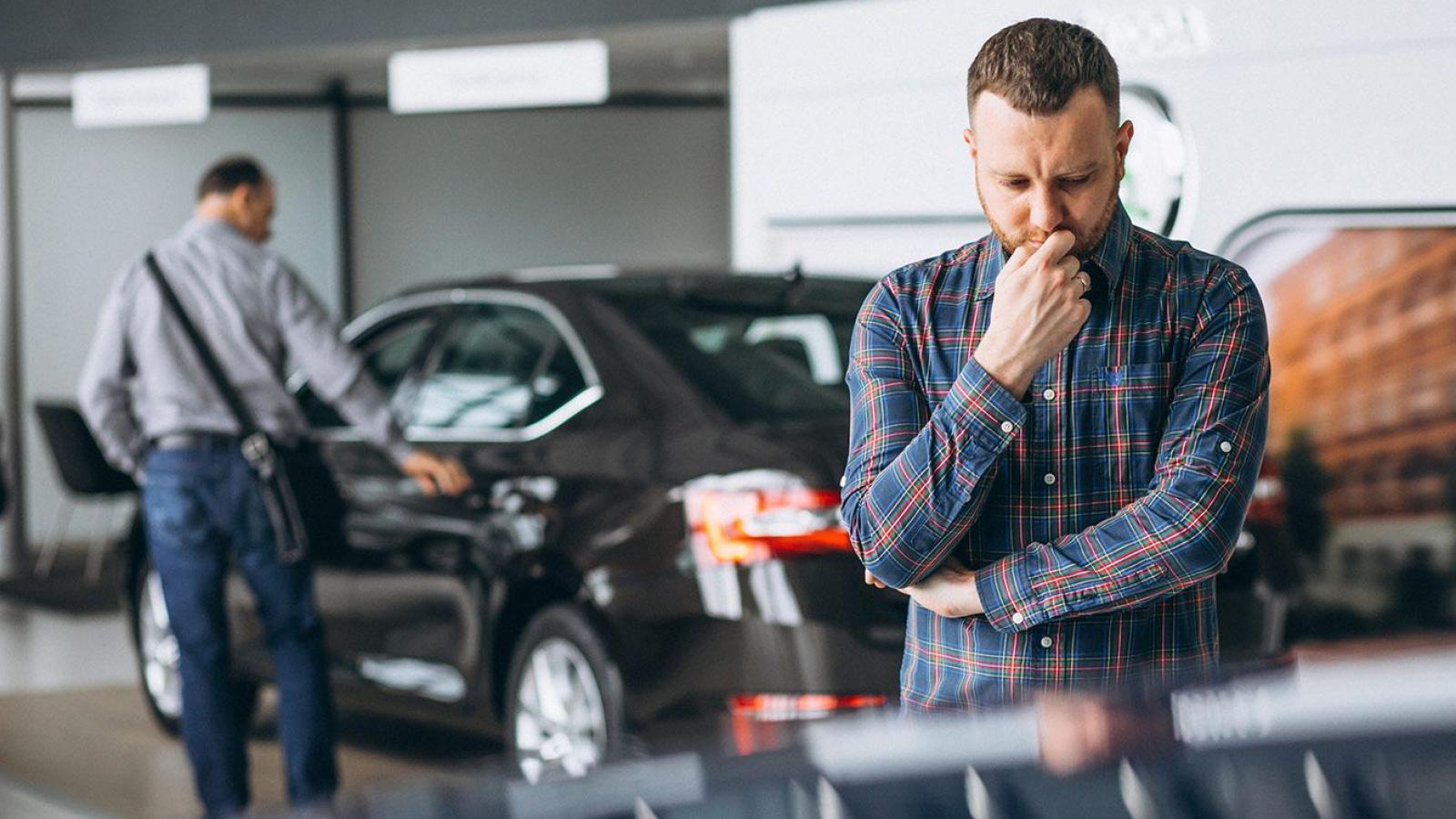 Покупку авто лучше отложить