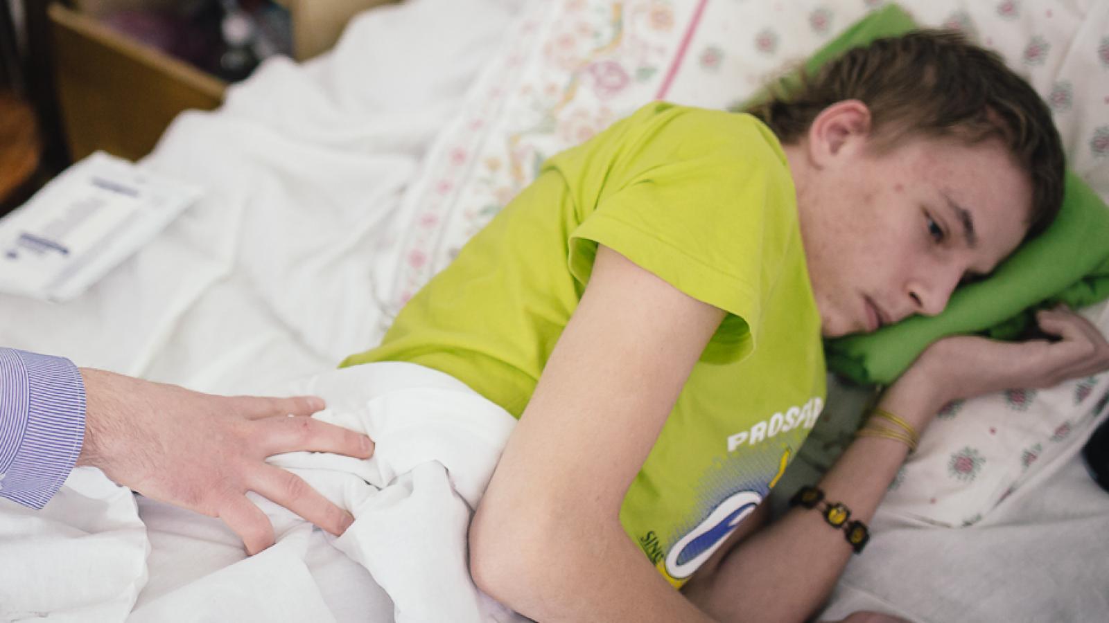 Вспышка коронавируса в детском отделении психбольницы