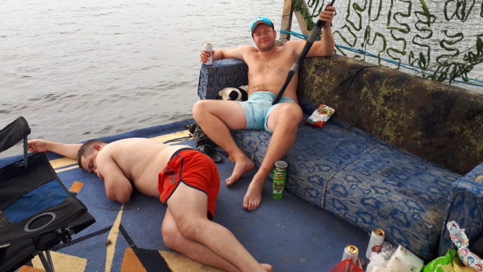 Пьяные череповчане норовят утонуть