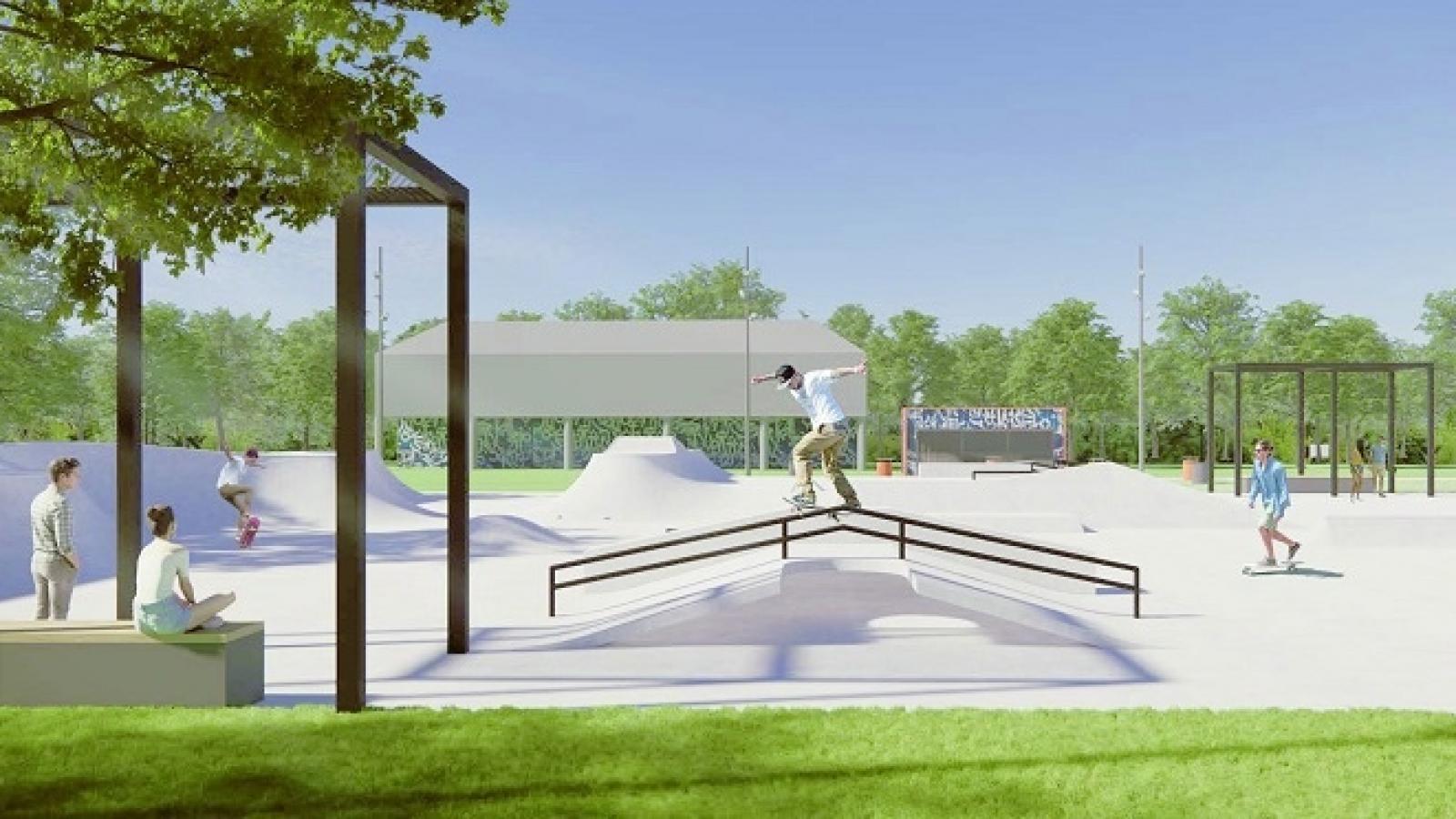 В Вологде построят новый скейт-парк